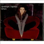 Shania Twain When UK 2-CD single set
