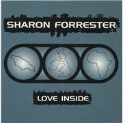 """Sharon Forrester Love Inside UK 12"""" vinyl"""