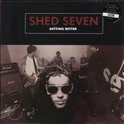 Click here for more info about 'Shed Seven - Getting Better - Red Vinyl + Numbered'