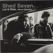 Click here for more info about 'Shed Seven - Let It Ride - Album Sampler'