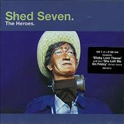 Click here for more info about 'Shed Seven - The Heroes'