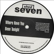 """Shed Seven Where Have You Been Tonight UK 12"""" vinyl Promo"""