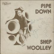 Click here for more info about 'Pipe Down - Autographed'