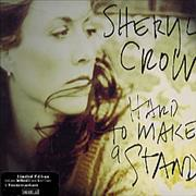 Click here for more info about 'Sheryl Crow - Hard To Make A Stand + Postcards'