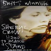 Click here for more info about 'Sheryl Crow - Hard To Make A Stand- Brit Winner'