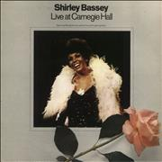 Click here for more info about 'Shirley Bassey - Live At Carnegie Hall - EX'