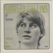 Click here for more info about 'Shirley Collins - Heroes In Love'
