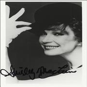 Click here for more info about 'Shirley MacLaine - Signed Photograph'