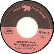 Click here for more info about 'Shocking Blue - Out Of Sight, Out Of Mind'