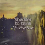 Shudder To Think Live From Home USA CD album Promo