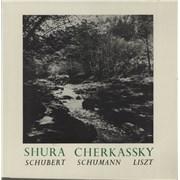 Click here for more info about 'Shura Cherkassky - Schubert / Schumann / Liszt'