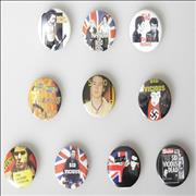 Click here for more info about 'Sid Vicious - Collection of 10 Badges'