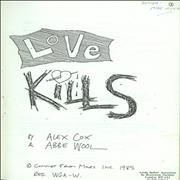 Click here for more info about 'Sid Vicious - Love Kills'