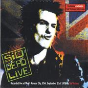 Click here for more info about 'Sid Vicious - Sid Dead Live - Sealed'