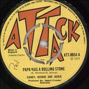 Click here for more info about 'Sidney, George And Jackie - Papa Was A Rolling Stone'