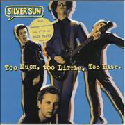 Click here for more info about 'Silver Sun - Too Much Too Little Too Late EP - Blue Vinyl'