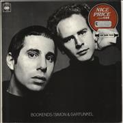 Click here for more info about 'Simon & Garfunkel - Bookends - graduated orange'