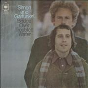 Click here for more info about 'Simon & Garfunkel - Bridge Over Troubled Water - graduated orange'
