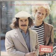 Click here for more info about 'Simon & Garfunkel - Greatest Hits - Hype stickered'