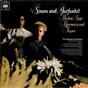 Click here for more info about 'Simon & Garfunkel - Parsley Sage Rosemary And Thyme - Graduated Orange label'