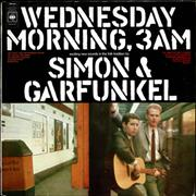 Click here for more info about 'Simon & Garfunkel - Wednesday Morning 3am - graduated label'