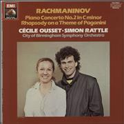 Click here for more info about 'Cécile Ousset - Rachmaninov: Piano Concerto No. 2 / Rhapsody On A Theme Of Paganini'