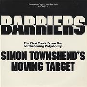 Click here for more info about 'Simon Townshend - Barriers - Clear Vinyl'
