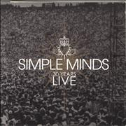 Click here for more info about 'Simple Minds - 30 Years Live + Ticket Stub'
