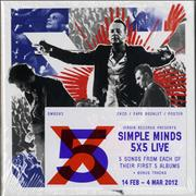 Click here for more info about 'Simple Minds - 5X5 Live - Sealed Box Set'