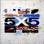 Click here for more info about 'Simple Minds - 5X5 Live'