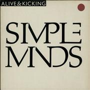 Click here for more info about 'Simple Minds - Alive And Kicking'