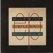 Click here for more info about 'Simple Minds - Ballad Of The Streets EP'