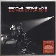 Click here for more info about 'Simple Minds - Big Music Tour 2015 - 180gm White Vinyl + Sealed'