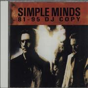 Click here for more info about 'Simple Minds - DJ Copy 1981-1995'