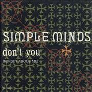 Click here for more info about 'Simple Minds - Don't You (Forget About Me) - Shrink'