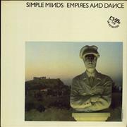 Click here for more info about 'Simple Minds - Empires And Dance'