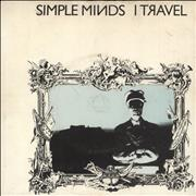 Click here for more info about 'Simple Minds - I Travel + Kaleidoscope Flexi - VG/EX'