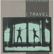 "Simple Minds I Travel UK 7"" vinyl"