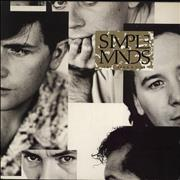 Simple Minds Once Upon A Time UK vinyl LP