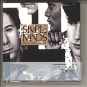 Simple Minds Once Upon A Time UK 2-CD album set