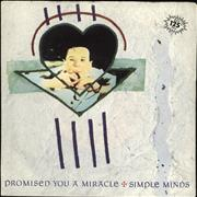 Click here for more info about 'Simple Minds - Promised You A Miracle'