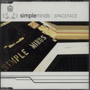Click here for more info about 'Simple Minds - Spaceface'