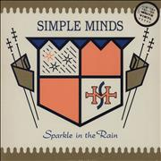 Click here for more info about 'Simple Minds - Sparkle In The Rain - White Vinyl - EX'