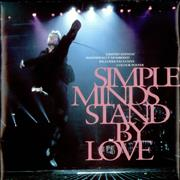 "Simple Minds Stand By Love + Poster UK 7"" vinyl"