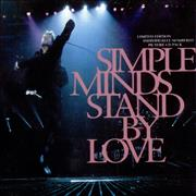 Click here for more info about 'Simple Minds - Stand By Love - Part 1 Fold Out Pack'