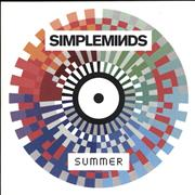Click here for more info about 'Simple Minds - Summer'