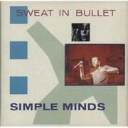 "Simple Minds Sweat In Bullet - Double Pack UK 7"" vinyl"