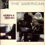 Click here for more info about 'Simple Minds - The American - Stickered sleeve'
