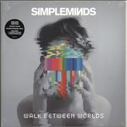 Click here for more info about 'Simple Minds - Walk Between Worlds - Pink Vinyl + Sealed'