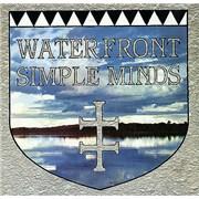 "Simple Minds Waterfront UK 12"" vinyl"